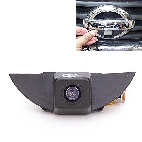 Cámara de vista frontal del coche Logotipo Cámara frontal incorporada para Nissan X-Trail Tiida Qashqai Livina fairlady Pulsar Cube Armada Frontier Murano
