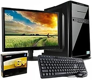 """pcWorks Mayoreo Computadora Completa Intel Celeron J3060 2gb Ram 120gb SSD Monitor 18.5"""" Teclado y Mouse Escolar Oficina"""