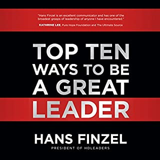 Top Ten Ways to Be a Great Leader cover art