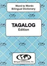 Tagalog edition Word To Word Bilingual Dictionary