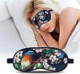 Sophinique Lavender Eye Mask, Velvet Aromatherapy Sleep Mask for Women & Men, Luxury Light Blocking Eye Pillow for Travel, Nap, Yoga, Super Soft Velvet Eye Mask Lightweight and Comfortable