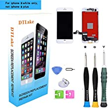 Premium Screen Replacement, Compatible iPhone 8 4.7 inch LCD Replacement Screen with 3D Touch Screen Digitizer Fram Assembly Full Set + Free Tools(White)