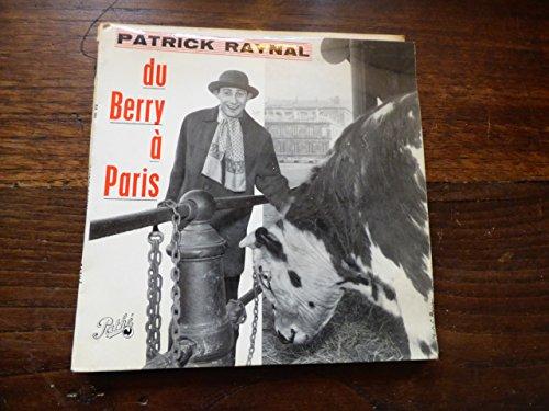 Patrick Raynal : du Berry à Paris - le coiffeur - disque pathé EA 352