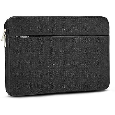 AtailorBird Funda Ordenador Portatil 14 Pulgadas,Bolsa pc Portátil Impermeable Anti-rasguños Antigolpes,Funda 14 Acolchada per Laptop/Notebook/MacBook/Chromebook -Negro