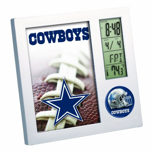 NFL Dallas Cowboys Digital Desk Clock