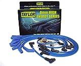 Taylor Cable 64658 HI ENE CUST 8CYL BLU, Blue