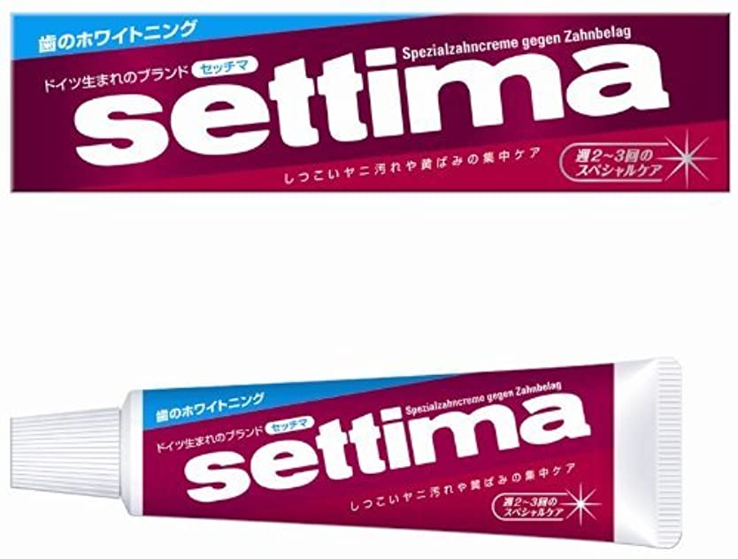 スポット恒久的カウンタsettima(セッチマ) はみがき スペシャル (箱タイプ) 40g