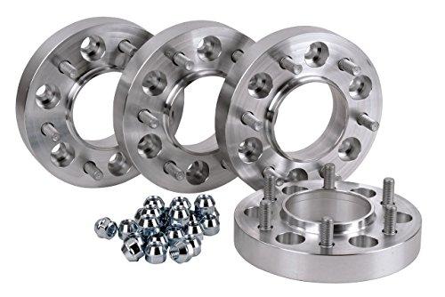 Hofmann Spurverbreiterung Aluminium 4 Stück (23/30 mm pro Scheibe / 46/60 mm pro Achse) inkl. TÜV-Teilegutachten~