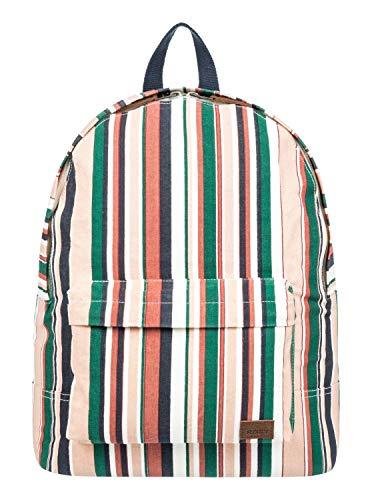 Roxy Junior's Sugar Baby Canvas Backpack, Mood Indigo soul Stripes sample, 1SZ