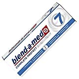 Blend-a-med Complete Protect 7 Kristallweiss Zahncreme 6er Pack (6 x 75ml)