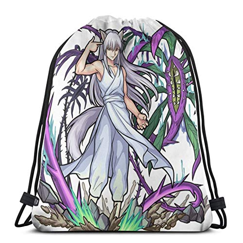 Kurama Youko And The Death Tree Yu Yu Hakusho Drawstring Bag Sports Fitness Bag Travel Bag Gift Bag
