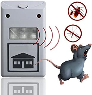Electronic Ultrasonic Rat Mouse Repellent Anti Mosquito Pest Repeller Rodent Pest Bug Reject Mole Repeller