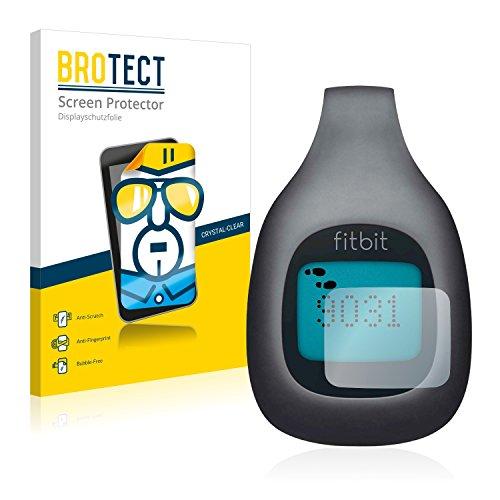 BROTECT Schutzfolie kompatibel mit Fitbit Zip (2 Stück) klare Bildschirmschutz-Folie