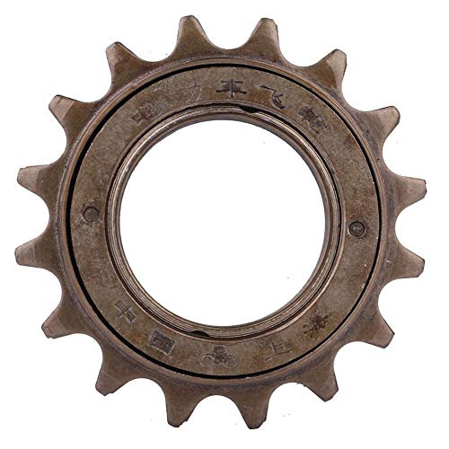 Broco 16 Teeth Freewheel, Cassette Sprocket One-speed 16T Bicycle Replacement Accessory