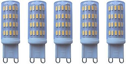 SGJFZD Low Voltage 12-24 Volt AC/DC G9 LED Light Bulb 5W 63LED 4014 400-450 Lumen Warm White 3000K/Cool White 6000K 40W Ha...