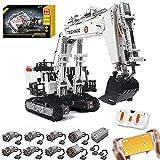 Bybo Excavadora técnica con 8 motores, compatible con Lego Technic - 4342 Telie