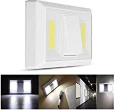 Brillar BR0021 BR0021 COB LED Light Switch with Remote Control Up to 30 Feet 4 AAA Batteries Included