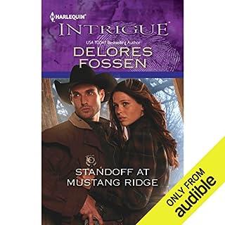 Standoff at Mustang Ridge audiobook cover art