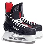 Bauer Spielwaren- NS Senior Patines de Hielo, Color Blanco/Rojo, 40.5 (688698313192)