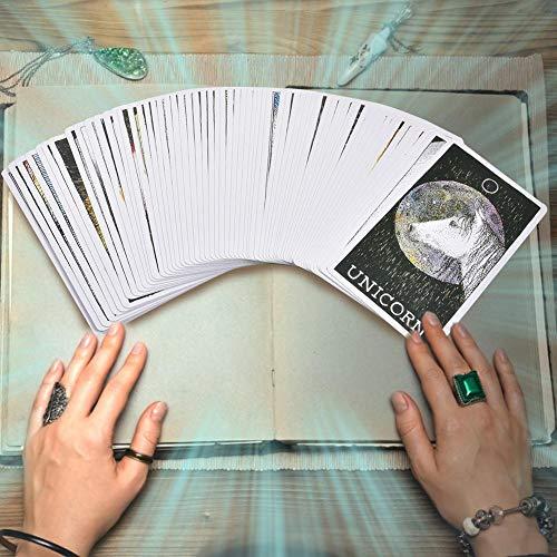Greatideal Der Wilde unbekannte Tiergeist Deck-Führer Tarotkarten Brettspielkarte