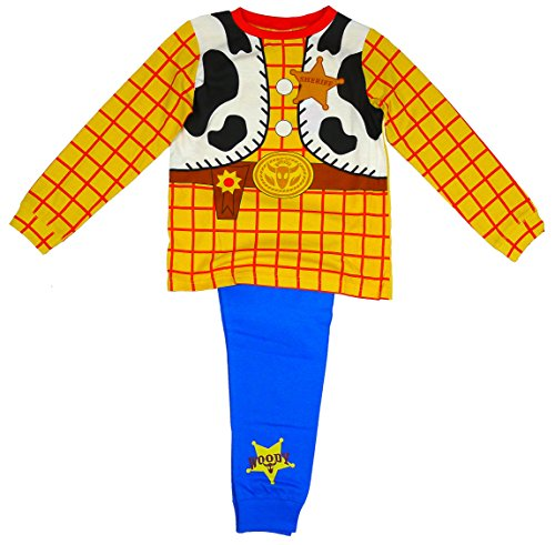 Disney Toy StoryBoys Woody Sheriff Kostuum Novelty Print Long Length Pyjama 1,5-6 jaar