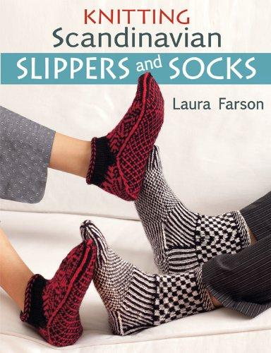 Knitting Scandinavian Slippers and Socks (English Edition)