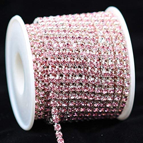 DS-46520 10yard latest Direct store 1Row SS6 SS12 Rhinesto Colour Glass Crystal SS16