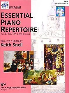 Essential Piano Repertoire Prep Level