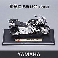 男の子ギフト1:18ヤマハFJR1300オリジナル認可シミュレーション合金オートバイモデルのおもちゃの車