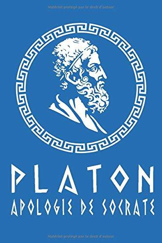 Platon - Apologie de Socrate: Édition illustrée | 38 pages Format 15,24 cm x 22,86 cm