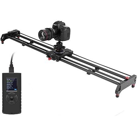 Gvm Kamera Schiene Motorisiert 80cm 2 Achsen Kamera Kamera