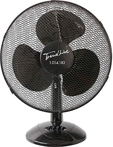 TrendLine Tischventilator 40 cm 45 W 3 Stufen Ventilator Oszillierend