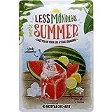 Nostalgic-Art Cartel de chapa retro Watermelon Summer Shake – Idea de regalo para la cocina, metálico, Diseño vintage para decoración, 20 x 30 cm
