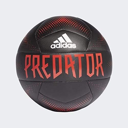 adidas Predator Training, Balón, Black-Active Red-White