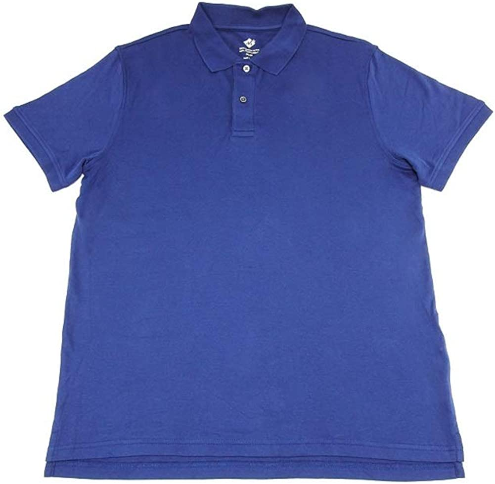 Members Mark 4-Pack Mens 100%-Egyptian Fit Soldering Polo Cotton Cheap sale Classic