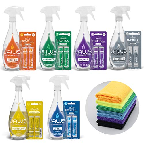 JAWS Ultimate Cleaning Kit | Kitchen, Glass, Shower,...