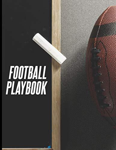 Football Playbook: 8.5 x 11 Notebook For Drawing Up Football Plays And Designing A Game plan And Practice Planning