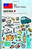 Samoa Travel Diary: Kids Guided Journey Log Book 6x9 - Record Tracker Book For Writing, Sketching, Gratitude Prompt - Vacation Activities Memories Keepsake Journal - Girls Boys Traveling Notebook