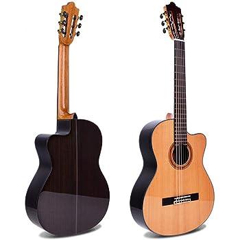 Alvarez CC7HCEAR guitarra clásica Concert híbrida hombro eléctrico ...