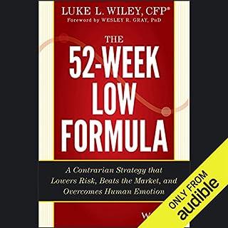 The 52-Week Low Formula audiobook cover art
