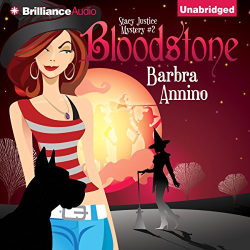 Bloodstone     A Stacy Justice Mystery, Book 2              By:                                                                                                                                 Barbra Annino                               Narrated by:                                                                                                                                 Amy Rubinate                      Length: 6 hrs and 11 mins     2 ratings     Overall 3.0