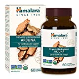 Himalaya Organic Arjuna, Blood Pressure Supplement for Cardiovascular Wellness and Heart Health, 700mg, 60 Caplets, 2 Month Supply