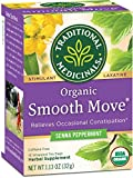 Traditional Medicinals Organic Smooth Move Peppermint Tea, 16 ct