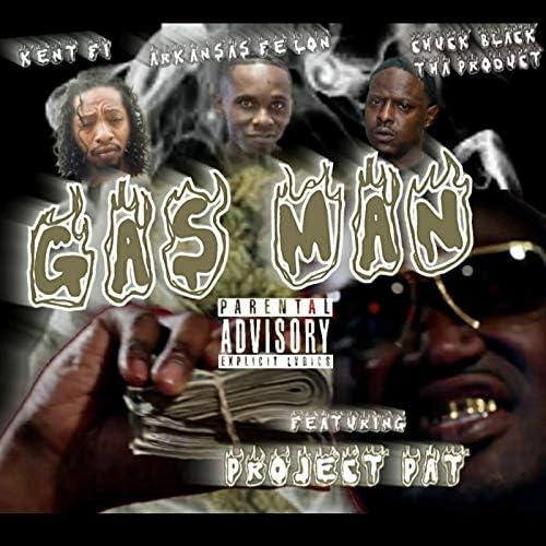 Chuck Black Tha Product feat. Arkansas Fe'lon, Kent Fi & プロジェクト・パット