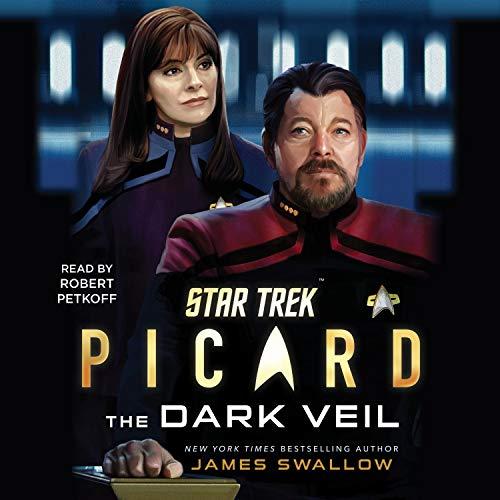 Star Trek: Picard: The Dark Veil cover art