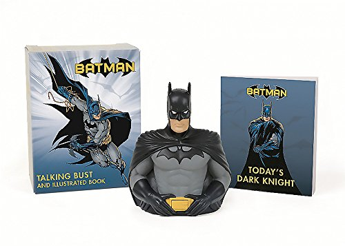 Batman: Talking Bust and Illustr...