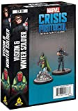 Atomic Mass Marvel Crisis Protocol: Vision & Winter Soldier Chara, Multicolor
