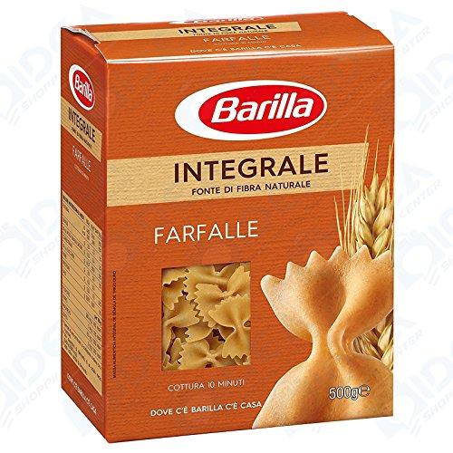 20 x 500 GR PASTA BARILLA INTEGRALE FARFALLE KILO FARFALLA 10 KG 10000 GR PACCO