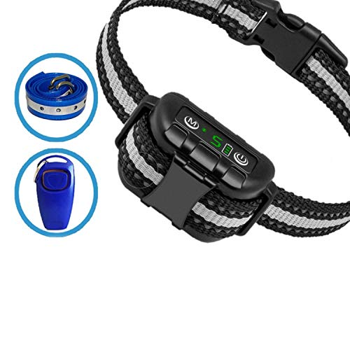 Best Dog Bark Collar for 2020 - Dog Training Collar - Smart Computer Chip Collar for Dogs - Anti Barking Device - Bark Collar Large Dog - Bark Collar Small Dog. Dog Barking Control Devices.