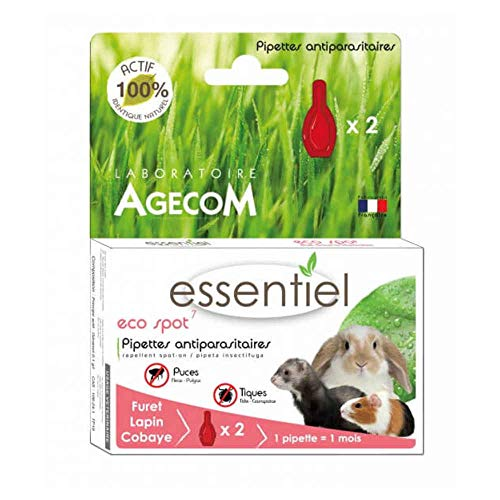 Eco Spot N°7 - Pipette antiparasitaire - Lapins et...